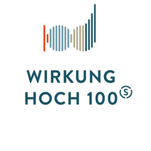 Initiative Wirkung hoch 100