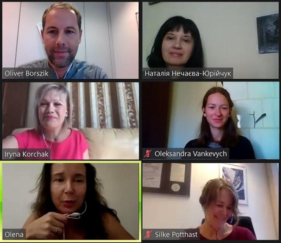 Screenshot vom Workshop-Team.